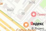 Схема проезда до компании Элегант-Н в Москве