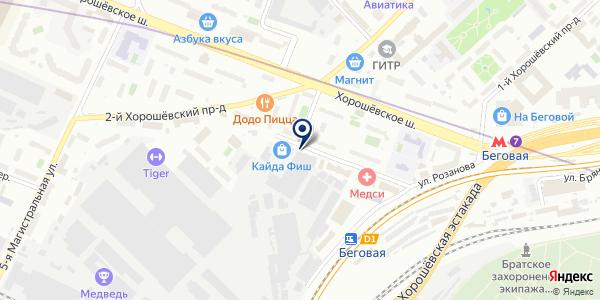ТринитиАвто на карте Москве