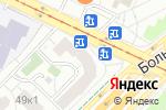 Схема проезда до компании Нанофарм в Москве