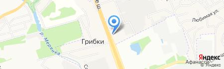 ГОРМАШ-Север на карте Грибков