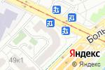 Схема проезда до компании Диана в Москве