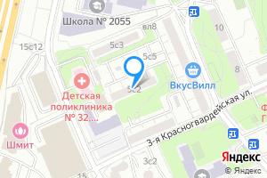 Снять однокомнатную квартиру в Москве Пресненский район, Стрельбищенский переулок, дом 5 с1