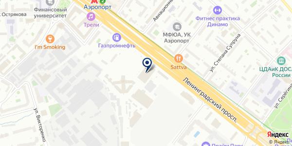 АВТОМОЙКА на карте Москве