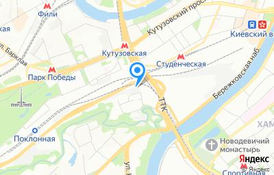 Местоположение на карте пункта техосмотра по адресу г Москва, проезд 1-й Сетуньский, д 10 стр 5