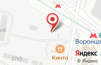 Схема проезда до компании ФинКомГрупп в Москве