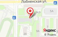 Схема проезда до компании Бизнес-Альянс в Москве