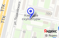 Схема проезда до компании САЛОН КАРНИЗОВ МАСТЕР в Москве