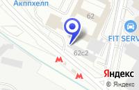 Схема проезда до компании ПТФ DOORLOCK в Москве
