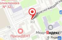 Схема проезда до компании Инж-Техстрой в Москве