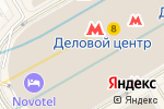 Схема проезда до компании Meat & Fish в Москве