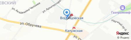 Библиотечка профсоюзного актива и предпринимателей на карте Москвы