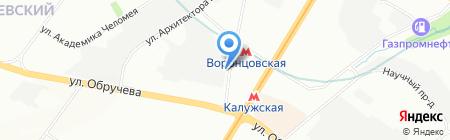 Дежавю тур на карте Москвы