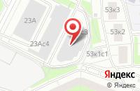 Схема проезда до компании Биомонтаж-1 в Москве