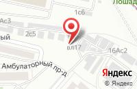 Схема проезда до компании Старпрайм в Москве