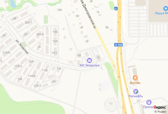 жилой комплекс Экодолье Шолохово