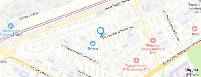 улица Генерала Рычагова