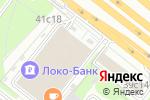 Схема проезда до компании Delivery Club в Москве
