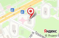 Схема проезда до компании Подольская станция переливания крови в Подольске