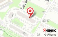 Схема проезда до компании СпецСтройСнаб-Юг в Подольске