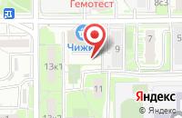 Схема проезда до компании Ортикс в Москве