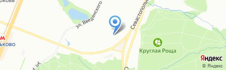 АЛАНИКА-СТРОЙ на карте Москвы