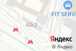 Схема проезда до компании Газпром телеком в Москве