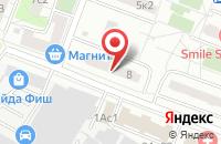 Схема проезда до компании Эльди в Москве