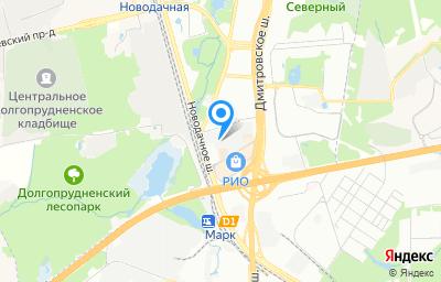 Местоположение на карте пункта техосмотра по адресу г Москва, ш Дмитровское, д 163 стр 1