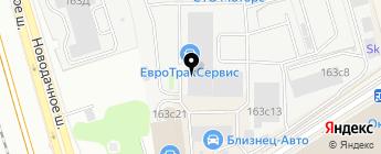 ГРАФФ СЕРВИС на карте Москвы