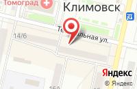 Схема проезда до компании Куриный дом в Подольске