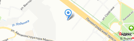 Red Machine на карте Москвы