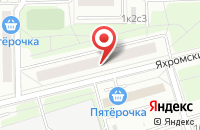 Схема проезда до компании ЕвроЛайн в Москве