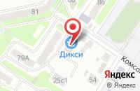 Схема проезда до компании Татьяна и Компания в Подольске