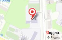 Схема проезда до компании Средняя общеобразовательная школа №16 в Подольске