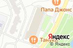 Схема проезда до компании Служба вскрытия замков в Москве