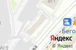 Схема проезда до компании На Беговой в Москве