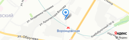ЭВРИКА на карте Москвы
