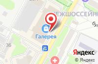 Схема проезда до компании Ticketland в Подольске