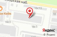 Схема проезда до компании Страйтком в Москве