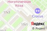 Схема проезда до компании К-групп в Москве