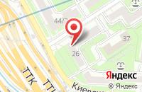 Схема проезда до компании Вентпрострой в Москве