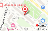 Схема проезда до компании Атланта в Москве