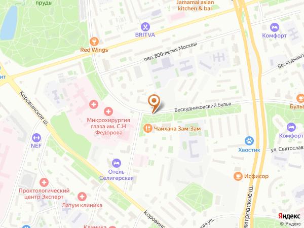 Остановка Ин-т Микрохирургии глаза в Москве