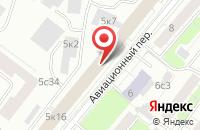 Схема проезда до компании Евро-18 в Москве