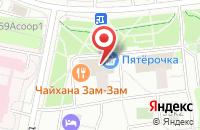 Схема проезда до компании Арт-Премьер в Москве