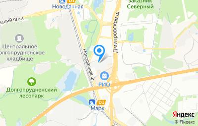 Местоположение на карте пункта техосмотра по адресу г Москва, ш Дмитровское, д 163 стр 3