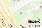 Схема проезда до компании Скания Сервис М в Москве