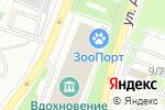 Схема проезда до компании Близнецы аква в Москве