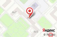 Схема проезда до компании Диагональ в Москве