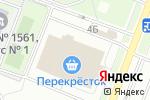 Схема проезда до компании Перекресток в Москве